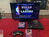 Bulls vs. Lakers and the NBA Playoffs (Sega Genesis, 1991)  Complete In Box