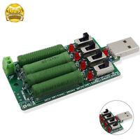 Mini Entlastung USB Lastwiderstand Strommessgerät mit Schalter
