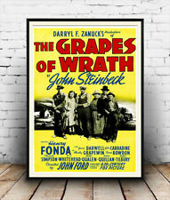 Grapes of wrath : advertising Poster reproduction