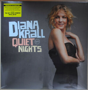 DIANA KRALL - QUIET NIGHTS 180 GRAM EU PRESSING LP SEALED