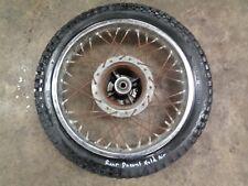 1979 79 HONDA CM185T CM 185 T MOTORCYCLE BODY REAR WHEEL TIRE 3.00-16