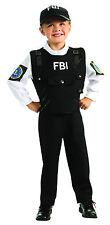 Kids FBI Agent Costume Police Law Enforcement Child Size Large 12-14