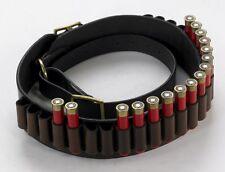Clásico Shooting Essentials. dk marrón cuero correa de cartucho de .410 G de bucle abierto