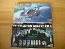 VF-1S  Valkyrie + Weapons 1/72 Scale Fighter Mode Plastic Kit Macross Hasegawa