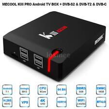 MECOOL KIII PRO TV BOX Android 7.1 DVB-S2&DVB-T2 S912 Octa-core 3GB/16GB