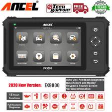 Ancel FX9000 Car OBD2 Scanner Full System Diagnostic Scanpad Tool TPMS SRS ABS