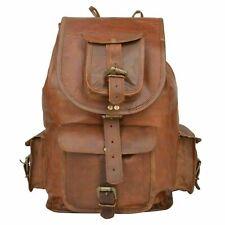 Women's Vintage Pure Leather Backpack Travelling Laptop Rucksack Satchel Bag