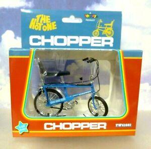 """TOYWAY 1/12 1970'S RALEIGH CHOPPER MK1 MKI BIKE BICYCLE """"THE HOT ONE"""" IN BLUE"""