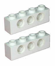 Missing Lego Brick 3701 White x 2 Technic Brick 1 x 4