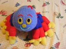 KNITTING PATTERN ONLY  WOOLLY SPIDER SOFT TOY