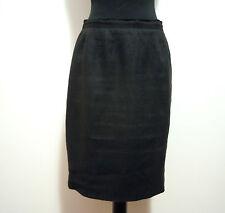 LUISA SPAGNOLI Gonna Donna Lino Flax Woman Skirt Sz.S - 42