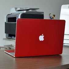Red Carbon Fiber Skin Decal Cover Guard Protector fr Retina MacBook Pro 13 A1502
