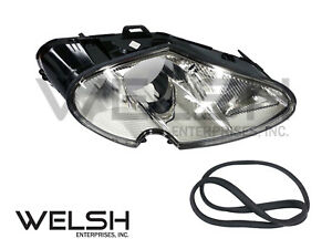 Jaguar XK8 (97-06) OEM Headlamp With Headlight Wash - Left Hand - LJA4513AF