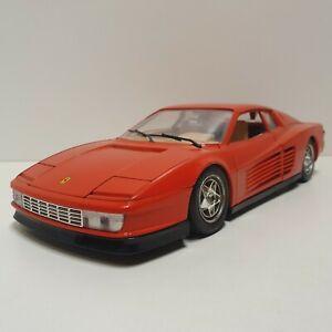 Bburago 1:18 - Ferrari Testarossa (1984) - Guter Zustand