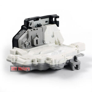 Rear Left Door Lock Latch Actuator Mechanism LH For VW Passat B6 Audi A4 A5 Q5