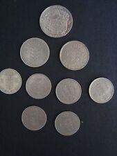 BELGIAN COINS. 10 5, 1 FRANC VARIATIONS. 1950-1973.