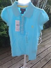 Ralph Lauren Girls' Collared 100% Cotton T-Shirts & Tops (2-16 Years)