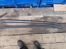 VAUXHALL CORSA C 00-06 roof bar roof rails trim strips SET X 2 009114732