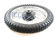 PW80 PY80 FRONT RIM WHEEL TIRE FOR YAMAHA COYOTE 80 PW PY 80 DIRT BIKE I WM24
