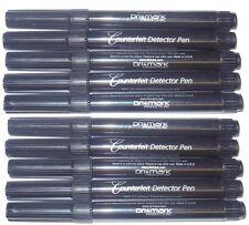10 - DRI MARK US Dollar Counterfeit Money Detector pens - DriMark
