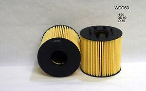 Wesfil  Oil Filter    WCO63 R2764P  suits RENAULT