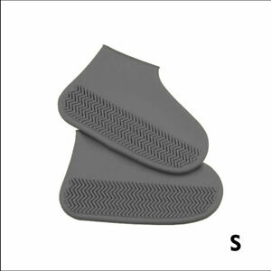 Recyclable Silicone Overshoes Rain Waterproof Shoes Covers Boot Protector S-L