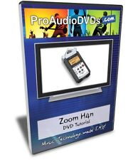 Zoom H4n DVD Video Training Tutorial Manual Help