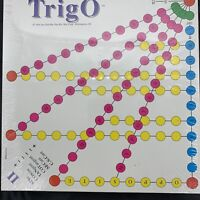 Trigo Board Game - Lewis Educational Games 1994 New Sealed Vintage Made In USA
