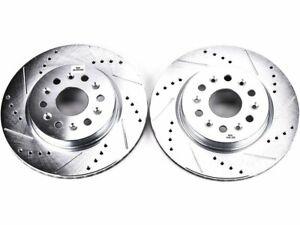For 2018 Chevrolet Traverse Brake Rotor Set Rear Power Stop 73482GN Brake Rotor