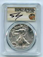 2016 (S) $1 American Silver Eagle 1oz PCGS MS70 Shaquille O'Neal