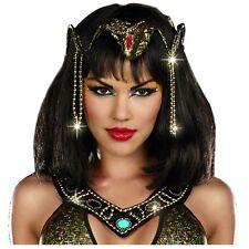 Cleopatra Crown Headpiece Adult Egyptian Queen Halloween Costume Fancy Dress