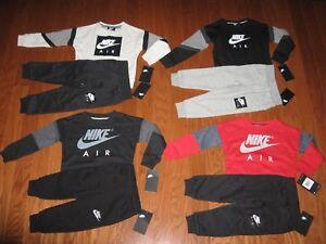 Nike Boys' 2-Pc. Sweatshirt & Pants Outfit Set Size 2T / 3T/ 4T / 4   NWT $86