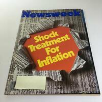Newsweek Magazine: October 22 1979 - Shock Treatment For Inflation