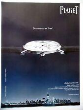 PUBLICITE-ADVERTISING :  PIAGET Altiplano 1205P  2014 Montres,Manhattan