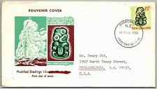 GP GOLDPATH: NEW ZEALAND SOUVENIR COVER 1968 FIRST DAY OF ISSUE _CV787_P04