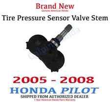 🔥 2005 - 2008 Honda Pilot Genuine OEM Tire Pressure Sensor Valve Stem - TPMS 🔥