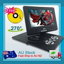 "Hitek Brand New 9.5"" Portable DVD Video Player DivX,Swivel, USB,SD,TV,300 GAMES"