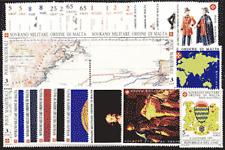 SMOM - ANNATA COMPLETA 1992 - 29 VALORI + 4 FOGLIETTI NUOVI INTEGRI
