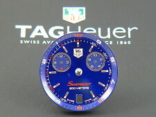 Orig. TAG Heuer Link Searacer Regatta Man 29.8 mm dial Blue + dial ring CT1115