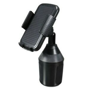 Universal Cup Holder Car Mount Weather Cup Tech Holder Adjustable for Cell Phone