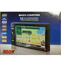 """6.2"""" DOUBLE-DIN IN-DASH GPS NAVIGATION LCD TOUCHSCREEN MULTIMEDIA DVD RECEIVER"""