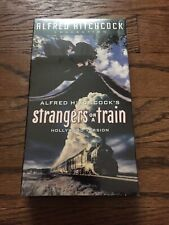 Strangers On A Train Vhs New Alfred Hitchcock Film Movie Mystery Suspense 1951