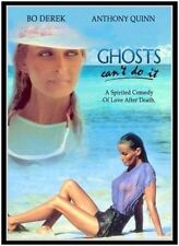 GHOSTS CAN'T DO IT (1990 Bo Derek)  DVD - Region Free - Sealed