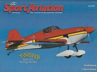 Sport Aviation (Apr 2001) (Aircraft Camping, Acro Sport II, Wright Flyer)