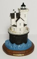 Fourteen Foot Bank, Delaware Lighthouse 7.5 Inches Tall New In Box #1028