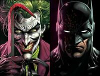🔥🔥  BATMAN: THREE JOKERS #1 (DC,2020) - LOT OF 2 REGULAR COVERS -FABOK NM 🔥🔥