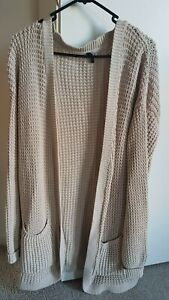 Women's Oversize Cardigan, Staple The Label, Size 8, Oatmeal, Great Condition