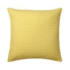 BALMAIN YELLOW Square Filled Cushion 41cm x 41cm - Ultima Logan and Mason