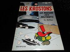Deliège : Les Krostons 2 : La maison des mutants EO Dupuis 1979 couvert