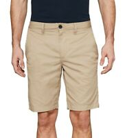 Timberland Men's Squam Lake Chino Summer Shorts Plain Beige Straight Fit Cotton